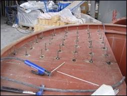 Cemento:montaje mecanico
